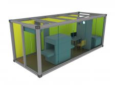 Моделирование и визуализация контейнера.