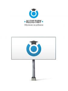 Логотип для «AlexStudy»