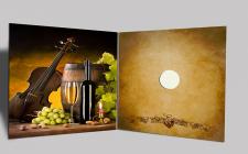 Дизайн упаковки для сертификата