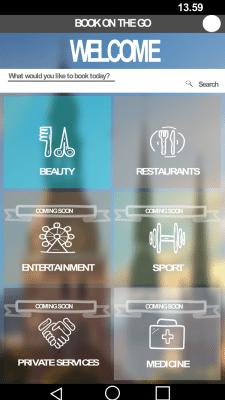 Дизайн иконок и вида экрана для мобильного приложе