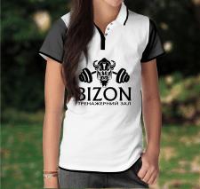 БИЗОН на футболке