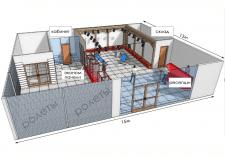 Торговый зал (простая визуализация)