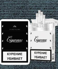 Дизайн пачки сигарет SIGARONE