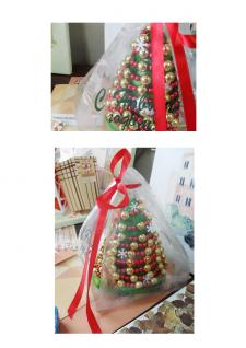 Оформление новогодней подарочной упаковки