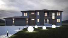 3d визуализация дома в Англии.