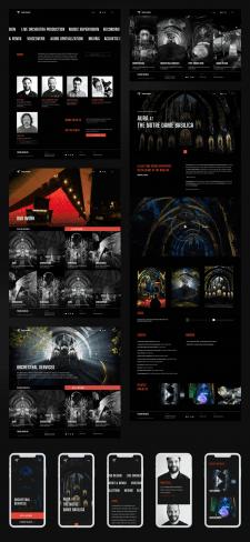 Сайт для музыкальной студии «Troublemakers»