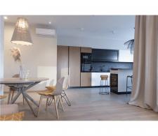 дизайн интерьера кухни-студии