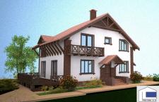Солнечный дом с террасой