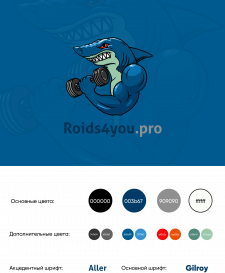 Логотип для спортивного сервиса