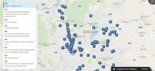 "Карта парковок для КП ""Харьковпарксервис"""