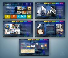 """Дизайн сайта для компании """"V.I.P.-монтаж"""""""