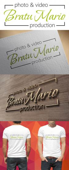 Логотип для фото, видео студии