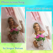 Photo retouching / Обработка фото