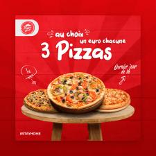 """Креатив для google ads """"Pizza Hut"""""""