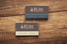 Дизайн визиток для сайта RLite