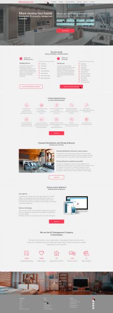 Website development for Bnbstartup