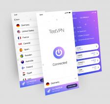 VPN iOS app