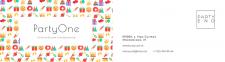 визитка для компании по организации праздников