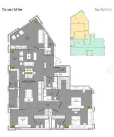 Планировочные решения и чертежи к дизайн проектам