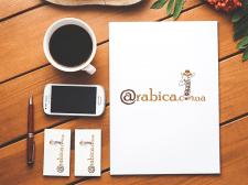 Разработка логотипа для интернет-магазина кофе