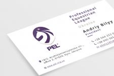 Визитка для Professional Equestrian League