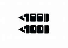 Логотип фестиваля к столетию школы с худ.уклоном