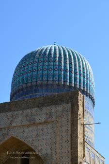 Купол майолика Самарканд