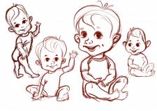 Розробка персонажу малюка