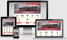 Верстка сайта мебельной компании Sofa