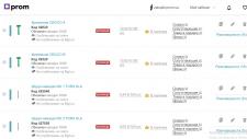 Наполнение интернет-магазина на платформе Prom.ua