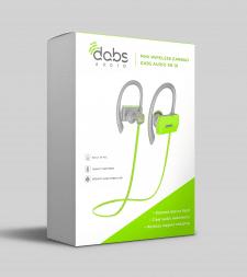 Упаковка навушники