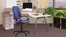 3D визуализация мебели в офисном помещении