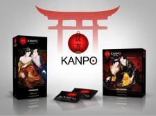 Упаковка контрацептивов в японской тематике