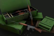 FN FAL Ammunition scene