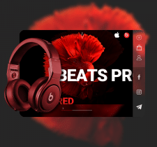 Landing for Beats Pro