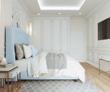 Спальня в американской классике