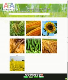 Сайт-витрина торгового предприятия на joomla 2.5