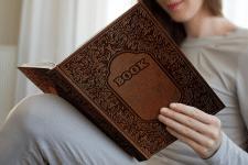 Обложка книги с тиснением / Embossing book cover