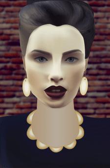 Mesh-портрет