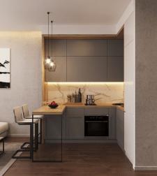 Дизайн интерьера квартиры под аренду г. Москва.
