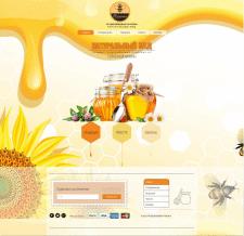 Сайт для продажи меда