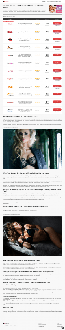 Why Free Casual Sex Is An Awesome Idea?