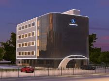 3д визуализация здания