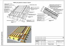 Рядовой узел утепления конструкции покрытия