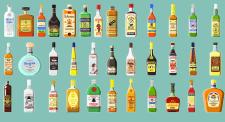 35 бутылок