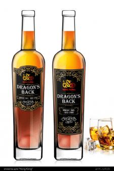 этикетка для виски