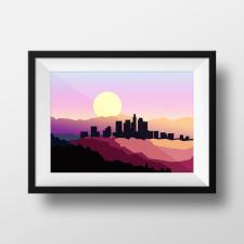 Картина с городом