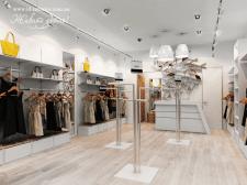 Дизайн интерьера магазина женской одежды г. Киев