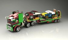 Konstruktion 3d LEGO