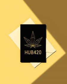 """Логотип """"HUB420"""""""
